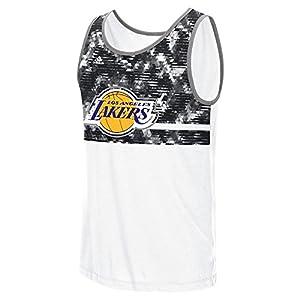 "Los Angeles Lakers Adidas NBA ""Energy Camo"" Men's Tank Top"