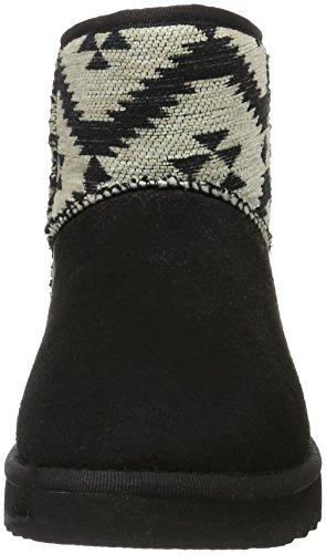 Esprit Uma Ethno, Botas Efecto Arrugado para Mujer Negro (001 black001 Black)