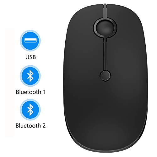 Bluetooth Mouse, Jelly Comb MS02B Triple Mode(BT 4.0+ for sale  Delivered anywhere in USA