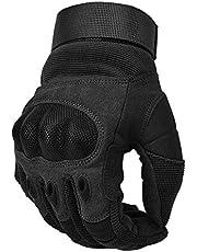 COTOP Motorhandschoenen, Touch Screen Hard knuckle handschoenen motorfiets handschoenen ATV paardrijden volledige fing, 6 maanden gratis vervanging voor kwaliteitsproblemen
