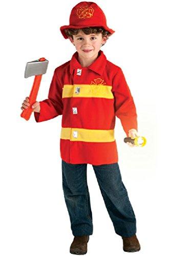 [8eighteen Firefighter Infant/Toddler Costume] (Fire Dog Costume For Toddler)