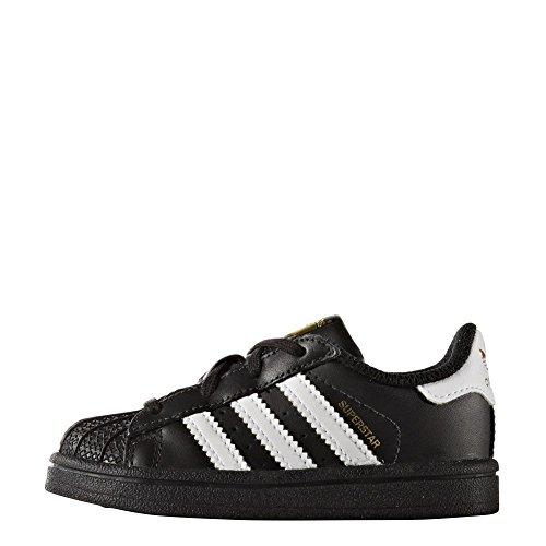 Chaussures adidas – Superstar I noir/blanc/blanc taille: 22