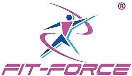 FIT-FORCE Cinta de Correr Plegable 1200W con 12 programas Mp3 + 2 ...