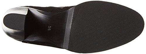 Giudecca W16JM005, Botas Altas de Tacón Mujer Negro (Black)