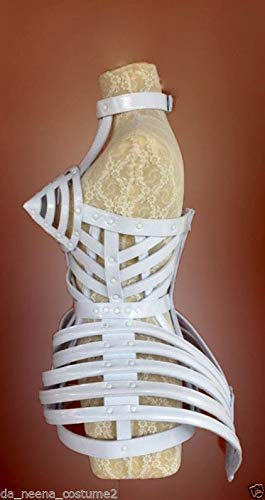 DaNeeNa Copy Cone Bra Pointy Cage Tail Leather Madonna Costume XS-XL -