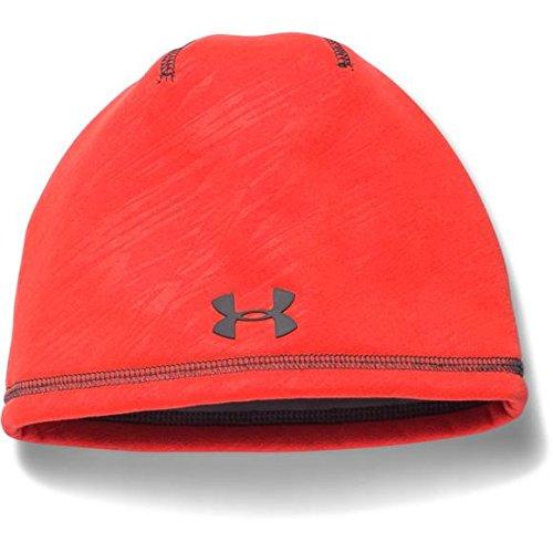 Under Armour Men's UA Element 2.0 Beanies (Youth) Bolt Orange/Graphite/Graphite Hat One Size