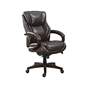 La-Z-Boy Delano Executive Bonded Leather Office Chair