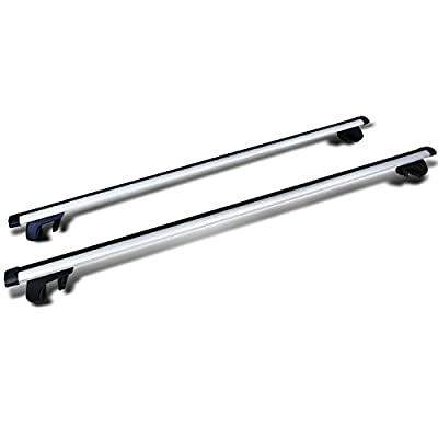 """Spec-D Tuning RRB-1002 53"""" Auto Suv Car Roof Top Cross Bars Luggage Cargo Rack Pair"""