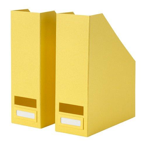 Set of 4 Magshion KC-H2 Plastic Durable Folder Holder Magazine File Box