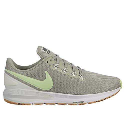 Nike Air Zoom Structure 22 Women's Running Shoe Spruce Fog/Barely Volt-Spruce Aura 7.5