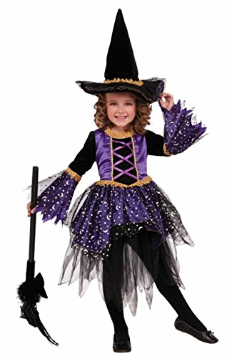 Mystic Amethyst Witch Girls Child Halloween Costume Witches & Wizards SM MD (Adult Or Child Gobbler Turkey Hat)