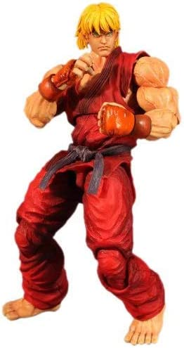 Street Fighter Super Iv Play Arts Kai Ken Action Figure Amazon Co