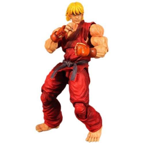 Square Enix Ken Super Street Fighter IV Play Arts Kai Action Figure