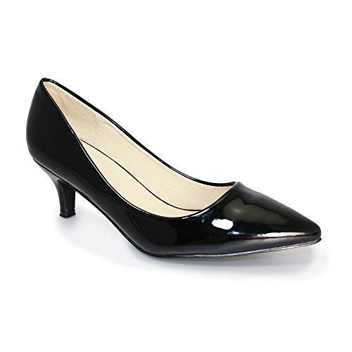 Celia Plain Court FLC150 Lunar Noir Low aZw5zq