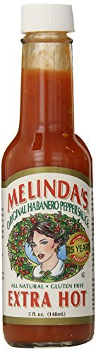 Melindas Sauce Hot Xhot (Pack of 3) by Melinda's