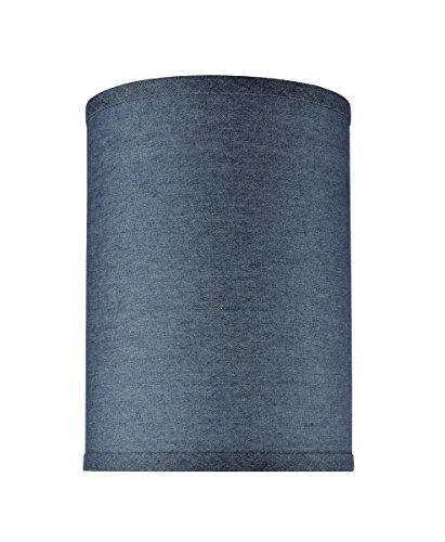 Aspen Creative 31112 Hardback Drum  Lamp Shade Washing Blue