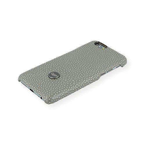 QIOTTI QX-C-0930-20-IP6 Snapcase Q.Snap Vulcan Premium Echtleder für Apple iPhone 6/6S grau