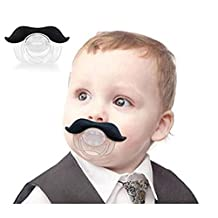 Interesting® Mustache Beard Pacifier Silicone Material Baby Funny Nipple