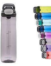 Contigo Courtland Autoseal waterfles, grote BPA-vrije drinkfles, 100% lekvrij en vaatwasserbestendig, outdoor sportfles voor fietsen, joggen, wandelen, werk, school 720 ml