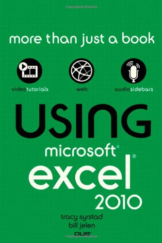 [PDF] Using Microsoft Excel 2010 Free Download | Publisher : Que | Category : Computers & Internet | ISBN 10 : 078974290X | ISBN 13 : 9780789742902