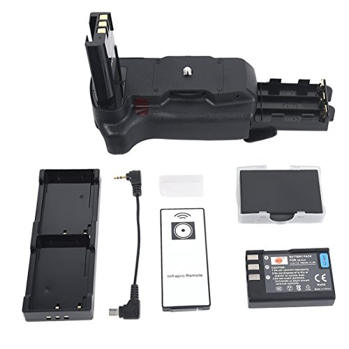 DSTE Pro IR Remote MB-D5000 Vertical Battery Grip + 2x EN-EL9 for Nikon D40 D40X D60 D3000 D5000 SLR Digital Camera - Nikon D60 Battery Grip
