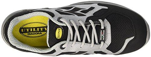 Calzado grigio flex O1 Low De Protección Diadora Fo nero Hombre Src Rojo D Para nY6qOfRwg