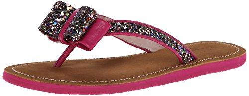 spade new Thong Multi york kate Nappa Glitter Icarda Pink Sandal Women's Deep qwd1dZ
