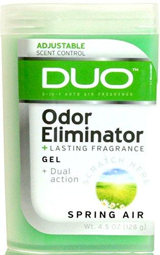 Gel 8300 (Duo 4.5 oz. Odor Eliminating Gel Air Freshener - 1/EA (Spring Air))