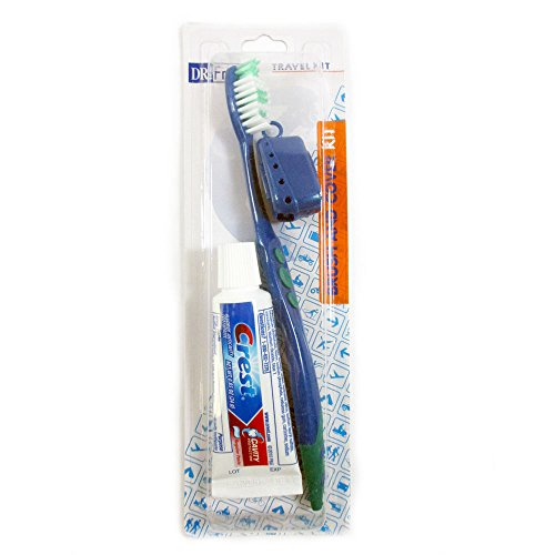 Travel Toothbrush Toothpaste Holder Compact