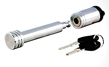 1//2-Inch Diameter - Dogbone - Chrome - Pack of 1 Prime Steel 18023 Chrome Hitch Lock