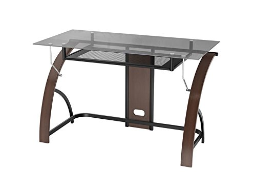 Z-Line Claremont Desk - Espresso Color:Brown