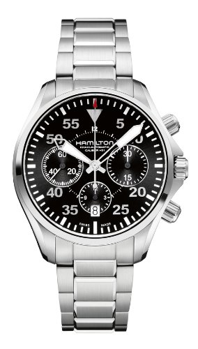 Hamilton Pilot Auto Chrono Men's watch #H64666135