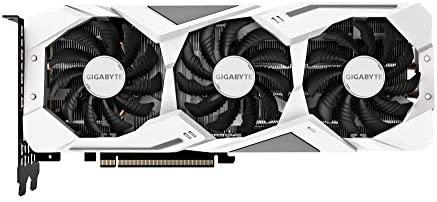 Gigabyte RTX 2070 Gaming OC - Tarjeta gráfica (8 GB de RAM, 256 bit, PCI-E 3.0 x 16, 1740 MHz en modo OC) color blanco