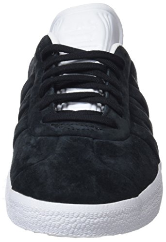 Core Footwear and Stitch Gazelle Black Black White para Turn 0 Core Adidas Hombre Zapatillas Negro xFAgq1