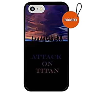 Attack on Titan Anime iPhone 4s Case & Cover Design Fashion Trend Cool Case Back Cover Silicone 4s2