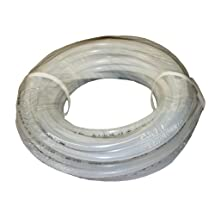"ATP Value-Tube LDPE Plastic Tubing, Natural, 1/4"" ID x 3/8"" OD, 100 feet Length"