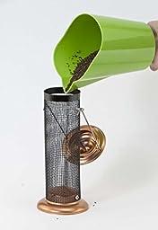 Woodlink Coppertop Thistle Mini Tube Feeder  Model  COPTMINI