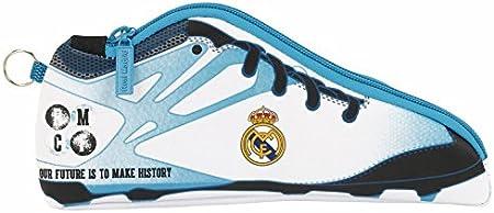 Real Madrid - Estuche portatodo Zapatilla, equipación 2017/2018 (SAFTA 811754584): Amazon.es: Juguetes y juegos
