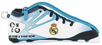Real Madrid Estuche portatodo Zapatilla, equipación 2017/2018 (SAFTA 811754584), uacutenico