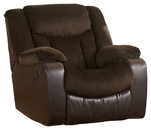 Ashley Furniture Signature Design - Tafton Recliner - Pull Tab Manual Reclining - Contemporary - - Gentle Ashleigh