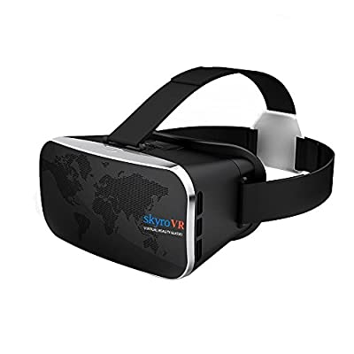 GamePal Virtual Reality Headset 3D Movie Game Glasses for 4.0-6.0 Inch iPhone & Android 3D Video Glasses