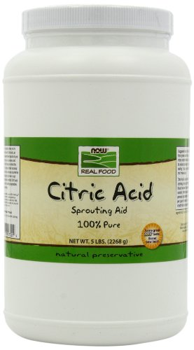 NOW Foods Citric Powder 5 Pound