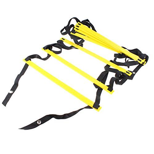 VanseeDurable Agility Ladder Speed Soccer Football Fitness Feet Training Yellow
