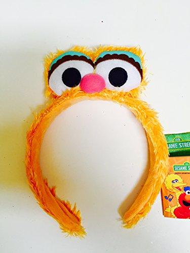[Sesame Street Elmo Friend Zoe Headband Head Band One Size] (Zoe Sesame Street Halloween Costume)