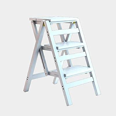 WCS Escalera multifunción Taburete Hogar Madera maciza IKEA ...