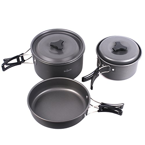 Unigear cp 13 in 1 unigear camping cookware outdoor for Backpacking fishing kit