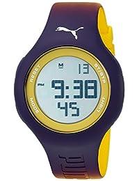 PUMA Unisex PU910801038 Loop Digital Display Analog Quartz Purple Watch