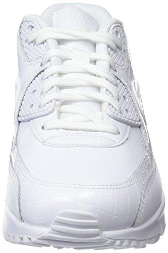 White White 133 White Sneakers Air Nike Max 90 Wmns Weiß Damen xp07BOqw8