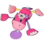 Infantino Shake & Pull Jittery Pal, Hippo