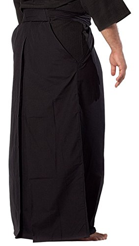 adidas Traditional Kendo Aikido Hakama (Black, 26)